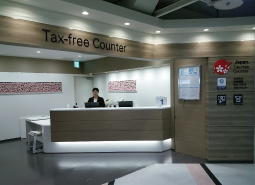 Tax-free counter