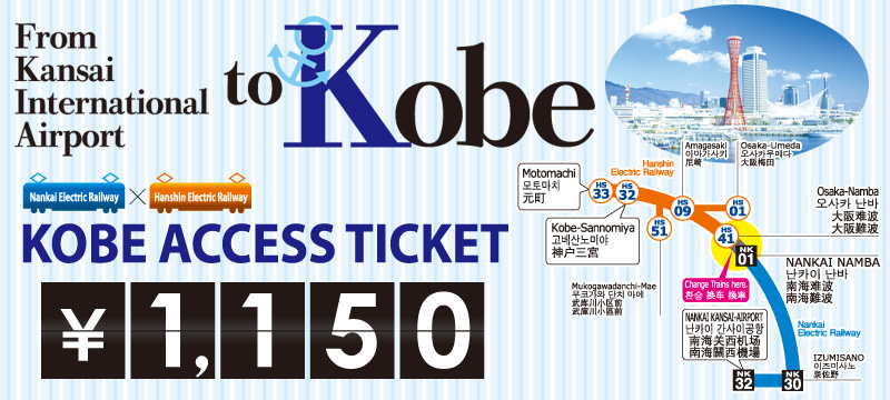 Kobe Access Ticket