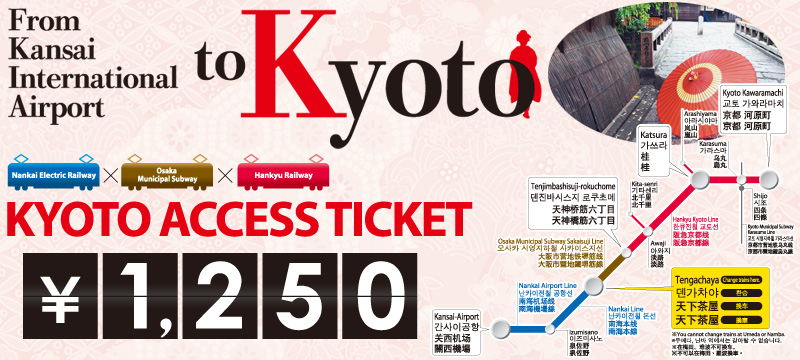 京都Access Ticket